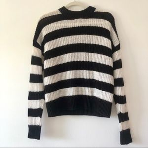 & other stories striped sweater size XS